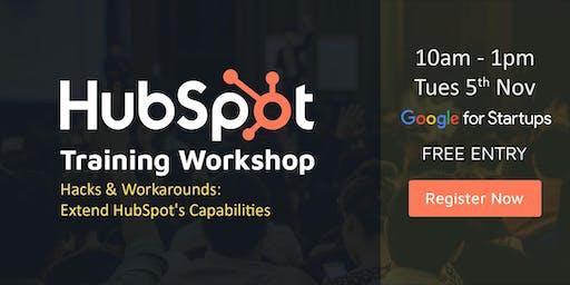 Digital Marketing & HubSpot Training Workshop - Hacks & Workarounds using HubSpot