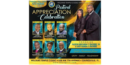 Pastoral Appreciation Celebration