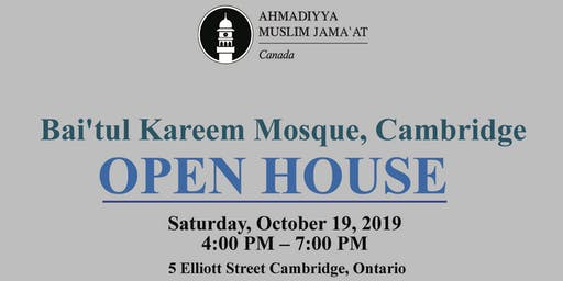 Mosque Open House