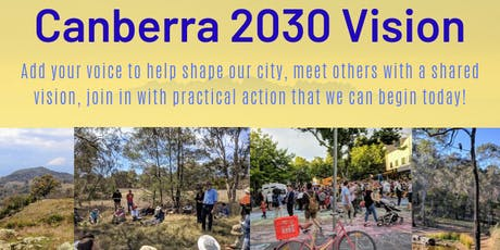 Canberra 2030 Vision - creative actions for a sustainable city tickets