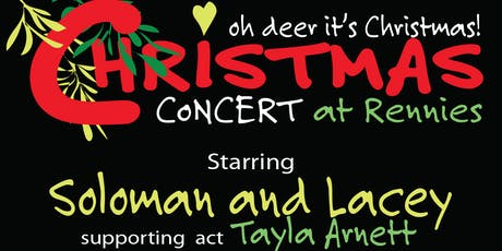 Christmas Concert at Rennies tickets