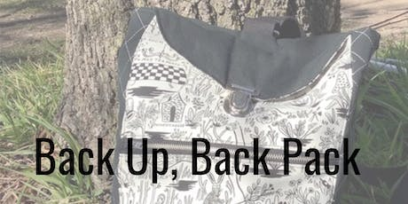 Back Up, Back Pack! (Saturday Class) tickets