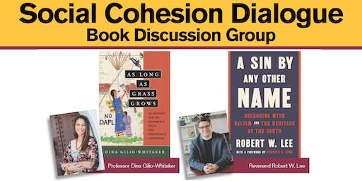 Social Cohesion Dialogue Book Discussion Group - Oct. 28