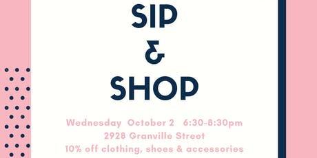 Sip & Shop with Rodan + Fields and Latest Scoop tickets