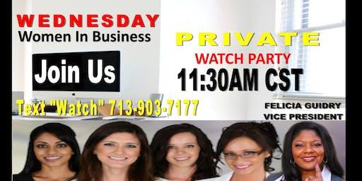 Women In Business Watch Party -Houston