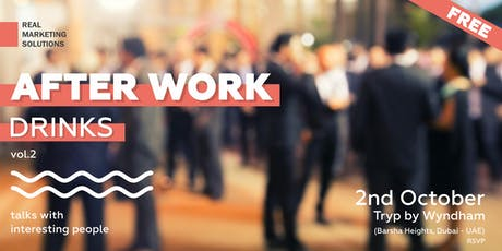 After Work drinks (networking session) tickets