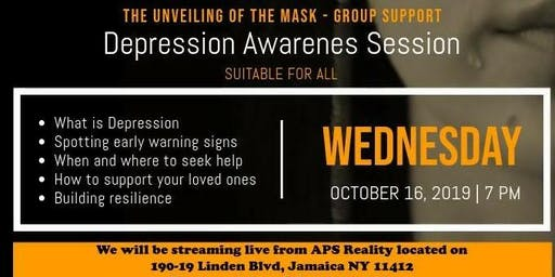 The Unveiling Of The Mask - Group Support | Understanding Depression