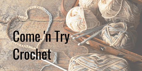 Come 'n Try Crochet tickets