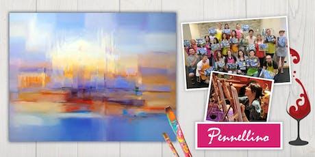 Evento di pittura social - Milano - pittura astratta biglietti