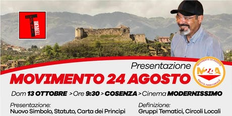Pino Aprile - Presentazione Nazionale Movimento 24 Agosto (ET) biglietti