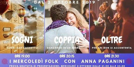 ★ I MERCOLEDì FOLK con Anna Paganini ★ biglietti