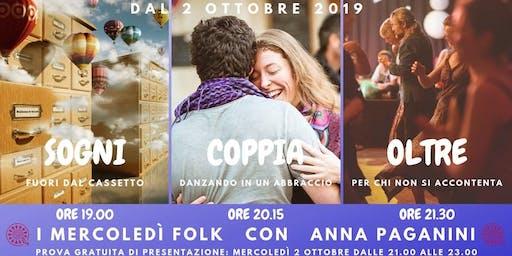 ★ I MERCOLEDì FOLK con Anna Paganini ★
