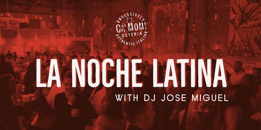 Thanksgiving Edition of La Noche Latina with DJ Jose Miguel