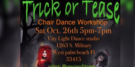Trick or Tease Chair Dance Workshop tickets