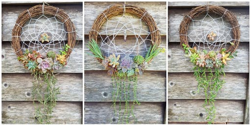 Succulent Dreamcatcher Workshop