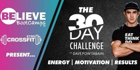 The BB/2795 SPRING 30 Day Challenge ft. Dave POW Tabain tickets