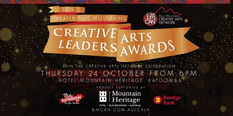 2019 Greater Blue Mountains Creative Arts Leaders Awards tickets