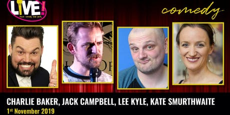 Stand-up Comedy Live! -  Friday 1st November 2019 tickets