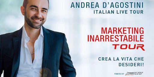 Marketing inarrestabile - Andrea d'Agostini live tour (Roma)
