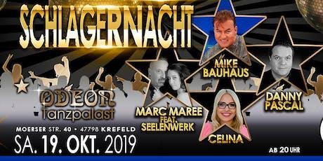 SCHLAGERNACHT  19.10.2019 TANZPALAST ODEON Tickets