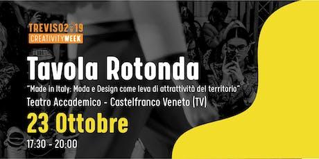 Made in Italy, Moda e Design: leve di attrattività del territorio biglietti