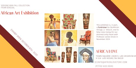 African Art Exhibition with Serigne Ibra Fall from Senegal tickets