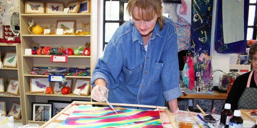 Freestyle Painted Silk Scarf Course