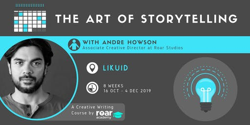 The Art of Storytelling | A Creative Writing Course