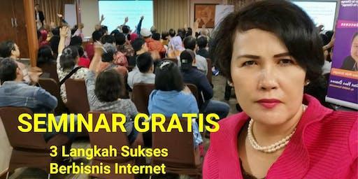 SEMINAR GRATIS BISNIS  INTERNET