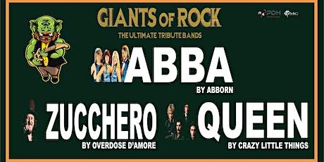 GIANTS OF ROCK: ABBA, QUEEN & ZUCCHERO tickets