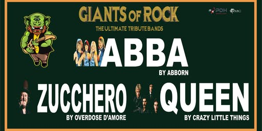 GIANTS OF ROCK: ABBA, QUEEN & ZUCCHERO