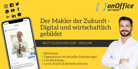 """""""Der Makler der Zukunft - Digital und wirtschaftlich gebildet"""" Tickets"""