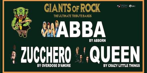 GIANTS OF ROCK: ABBA, QUEEN & ZUCCHERO