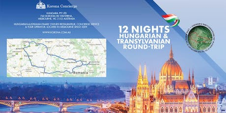 Information Session: Hungarian  & Transylvanian tour June 2020 tickets