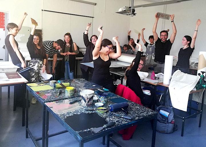 Immagine MonotipoDADA / Laboratorio con Arianna Vairo ** grazie a IED Milano