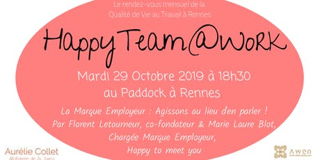 HappyTeam@Work Rennes #9 billets