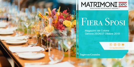 Fiera Sposi Matrimoniexpo tickets