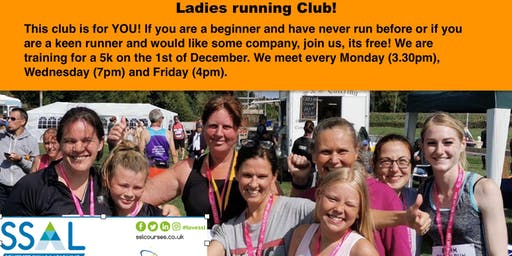 From Couch Potato to 5 K - Ladies running group