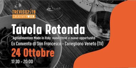 AgroAlimentare Made in Italy: nuovi trend e nuove opportunità biglietti