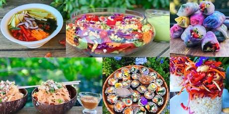 7 Course  Asian Vegan Degustation Lunch & Animal Feeding tickets
