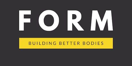 F O R M - Building Better Bodies Workshop tickets