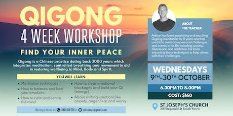Qigong - 4 week workshop tickets