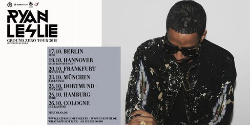 Ryan Leslie & Band Live in Berlin - 17.10.- SO36