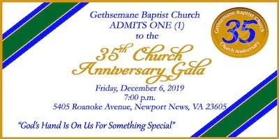 35th Church Anniversary Gala