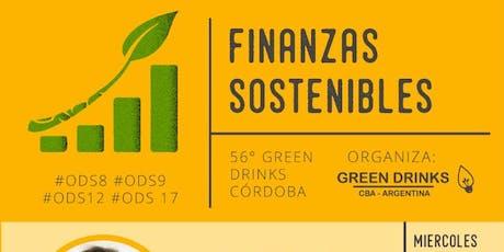 "56° Green Drinks Cba - ""Finanzas Sostenibles""  #ODS8 #ODS9 #ODS12 #ODS17  entradas"
