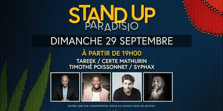Stand-Up Paradisio : Comedy Club billets