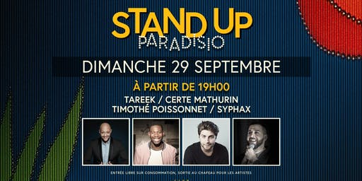 Stand-Up Paradisio : Comedy Club