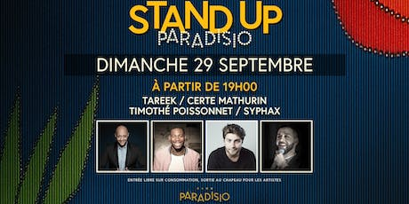 Stand-Up Paradisio #4 : Comedy Club billets