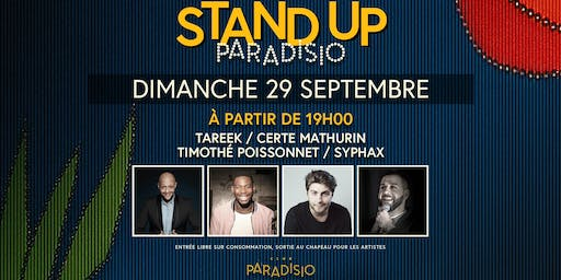 Stand-Up Paradisio #4 : Comedy Club