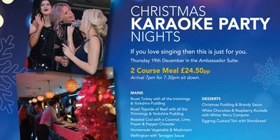 Karaoke Christmas Party Night